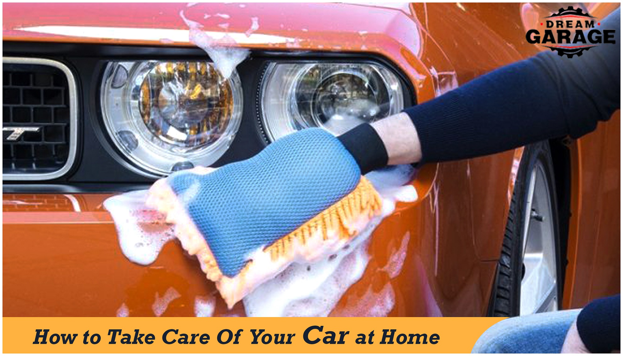 take care of car at home